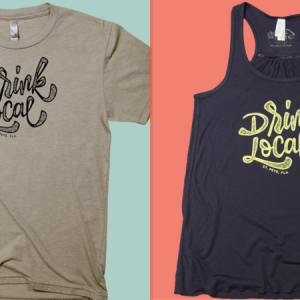 Going Fast: Drink Local Shirts from St. Pete Threads!